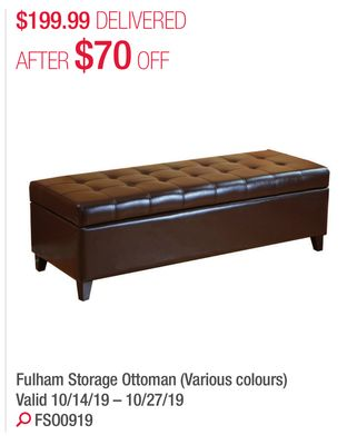 Remarkable Find The Best Deals For Storage Ottoman In Markham On Flipp Gmtry Best Dining Table And Chair Ideas Images Gmtryco