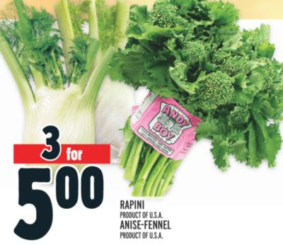 ANDY BOY RAPINI AND ANISE-FENNEL