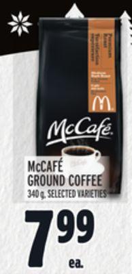 MCCAFÉ GROUND COFFEE