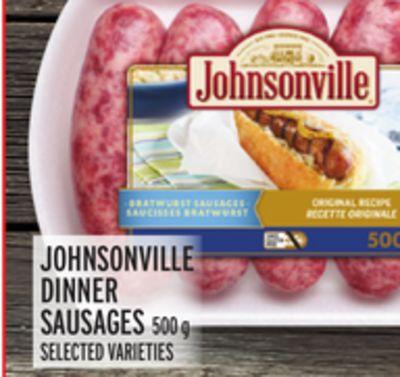 JOHNSONVILLE DINNER SAUSAGES