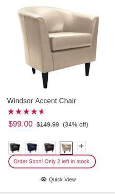 Astounding Find The Best Deals For Accent Chairs In Sand Lake Mi Flipp Andrewgaddart Wooden Chair Designs For Living Room Andrewgaddartcom