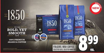 FOLGERS 1850 COFFEE