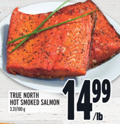 TRUE NORTH HOT SMOKED SALMON
