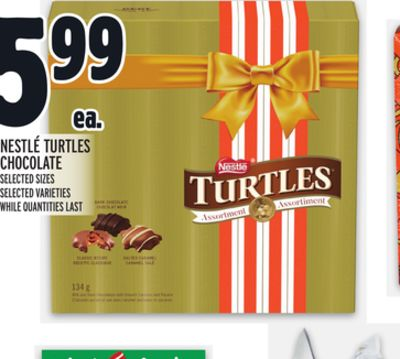 NESTLÉ TURTLES CHOCOLATE