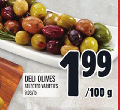 DELI OLIVES