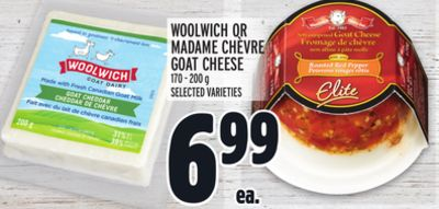 WOOLWICH OR MADAME CHÈVRE GOAT CHEESE
