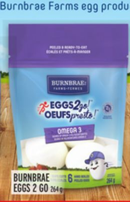 BURNBRAE EGGS 2 GO
