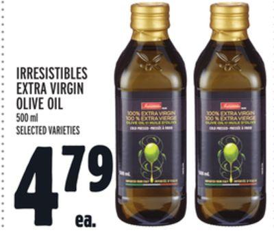 IRRESISTIBLES EXTRA VIRGIN OLIVE OIL