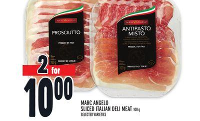 MARC ANGELO SLICED ITALIAN DELI MEAT