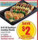 H-E-B Sushiya Combo Packs
