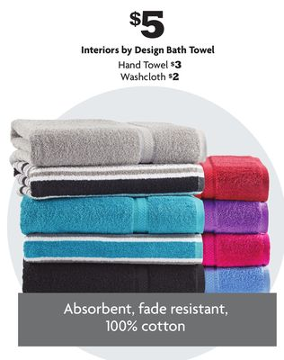 Interiors by Design Bath Towel