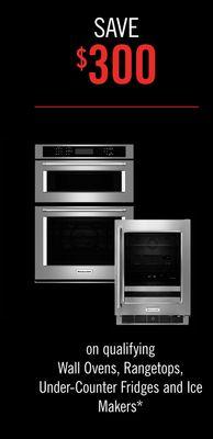 Buy Kitchenaid Wall Ovens Rangetops Under Counter Fridges And Ice Makers In Toronto Flipp