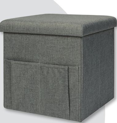 Storage Ottoman With Pockets