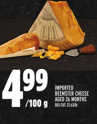 IMPORTED BEEMSTER CHEESE AGED 26 MONTHS