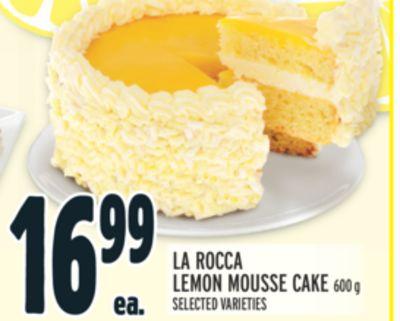 LA ROCCA LEMON MOUSSE CAKE