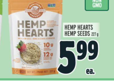 HEMP HEARTS HEMP SEEDS