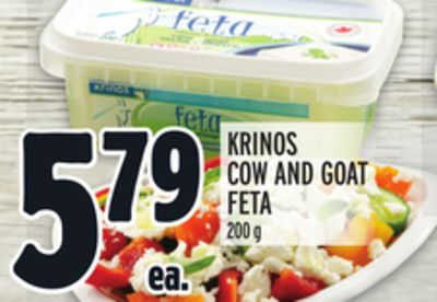 KRINOS COW AND GOAT FETA