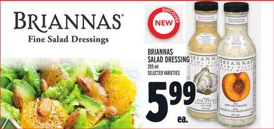 BRIANNAS SALAD DRESSING