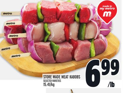 STORE MADE MEAT KABOBS