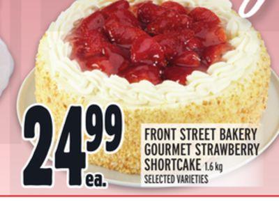 FRONT STREET BAKERY GOURMET STRAWBERRY SHORTCAKE