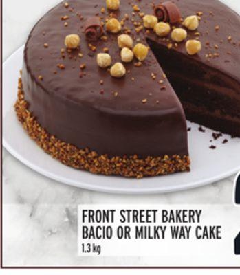 FRONT STREET BAKERY BACIO OR MILKY WAY CAKE