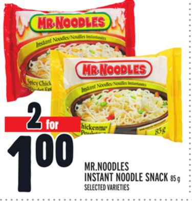 MR.NOODLES INSTANT NOODLE SNACK