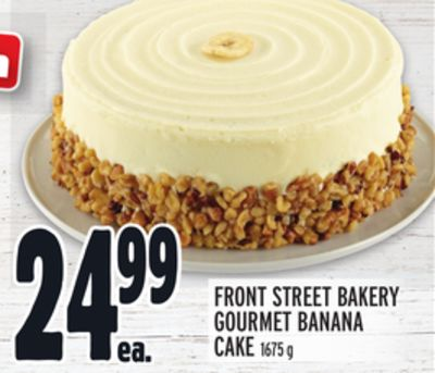 FRONT STREET BAKERY GOURMET BANANA CAKE