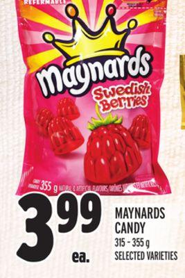 MAYNARDS CANDY