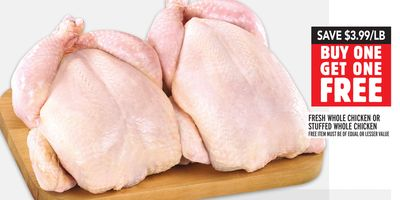 FRESH WHOLE CHICKEN OR STUFFED WHOLE CHICKEN