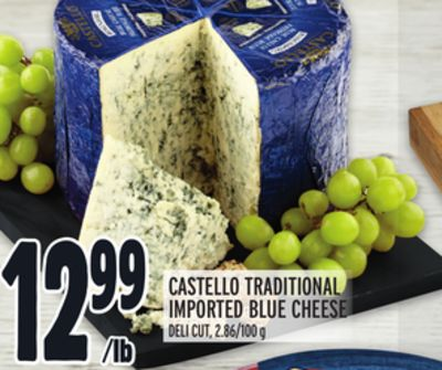 CASTELLO TRADITIONAL IMPORTED BLUE CHEESE
