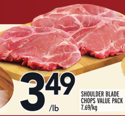 SHOULDER BLADE CHOPS VALUE PACK