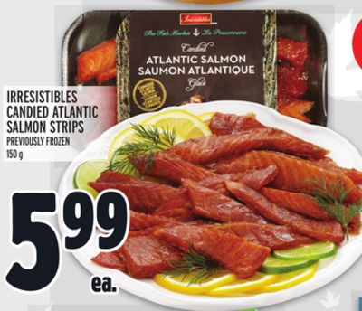 IRRESISTIBLES CANDIED ATLANTIC SALMON STRIPS