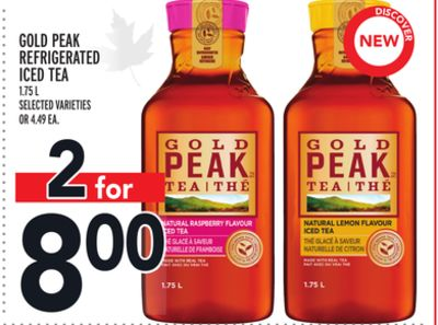 GOLD PEAK REFRIGERATED ICED TEA