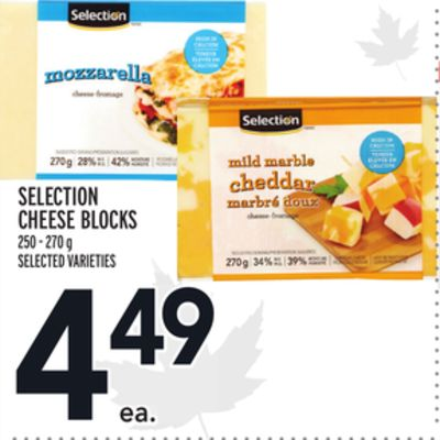 SELECTION CHEESE BLOCKS