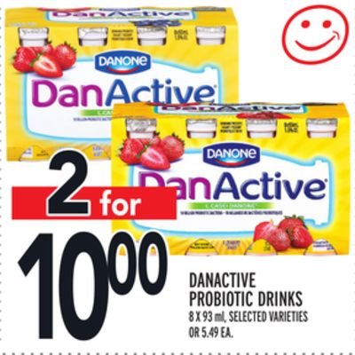 DANACTIVE PROBIOTIC DRINKS