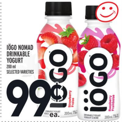 IÖGO NOMAD DRINKABLE YOGURT