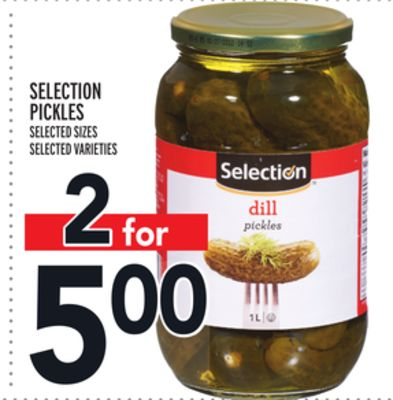 SELECTION PICKLES