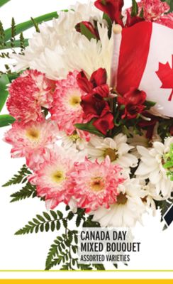 CANADA DAY MIXED BOUQUET