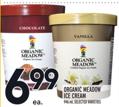 ORGANIC MEADOW ICE CREAM