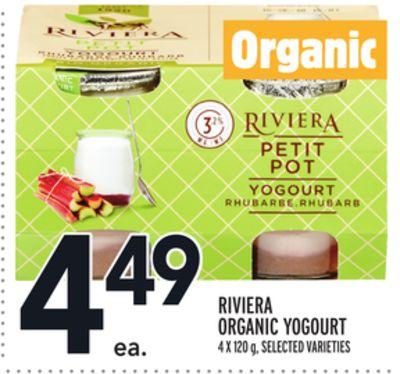 RIVIERA ORGANIC YOGOURT