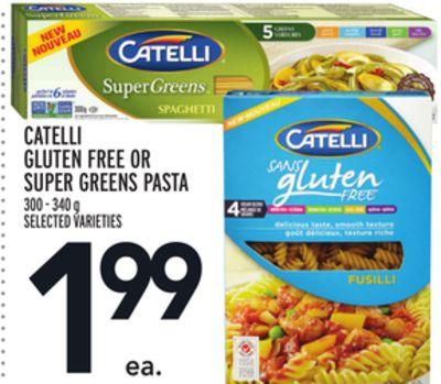 CATELLI GLUTEN FREE OR SUPER GREENS PASTA