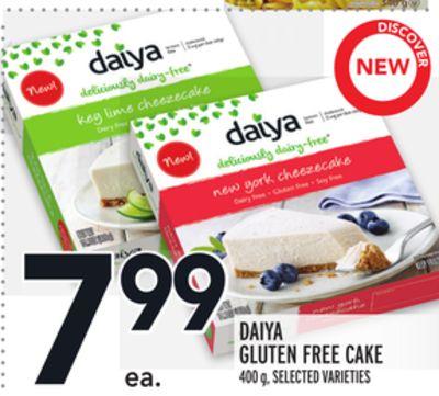 DAIYA GLUTEN FREE CAKE