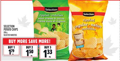 SELECTION POTATO CHIPS