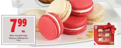 New Canada Day Flavours Macarons