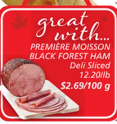 PREMIÈRE MOISSON BLACK FOREST HAM