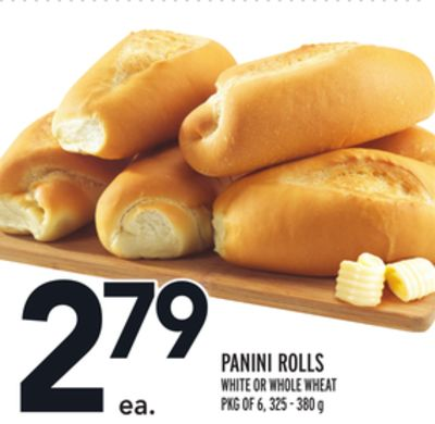 PANINI ROLLS