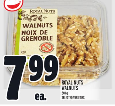 ROYAL NUTS WALNUTS