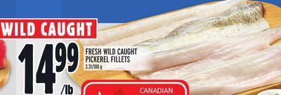 FRESH WILD CAUGHT PICKEREL FILLETS
