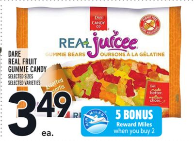 DARE REAL FRUIT GUMMIE CANDY