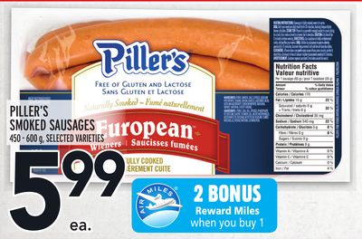 PILLER'S SMOKED SAUSAGES